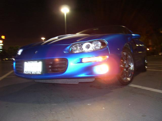 Night Shot with the Halos