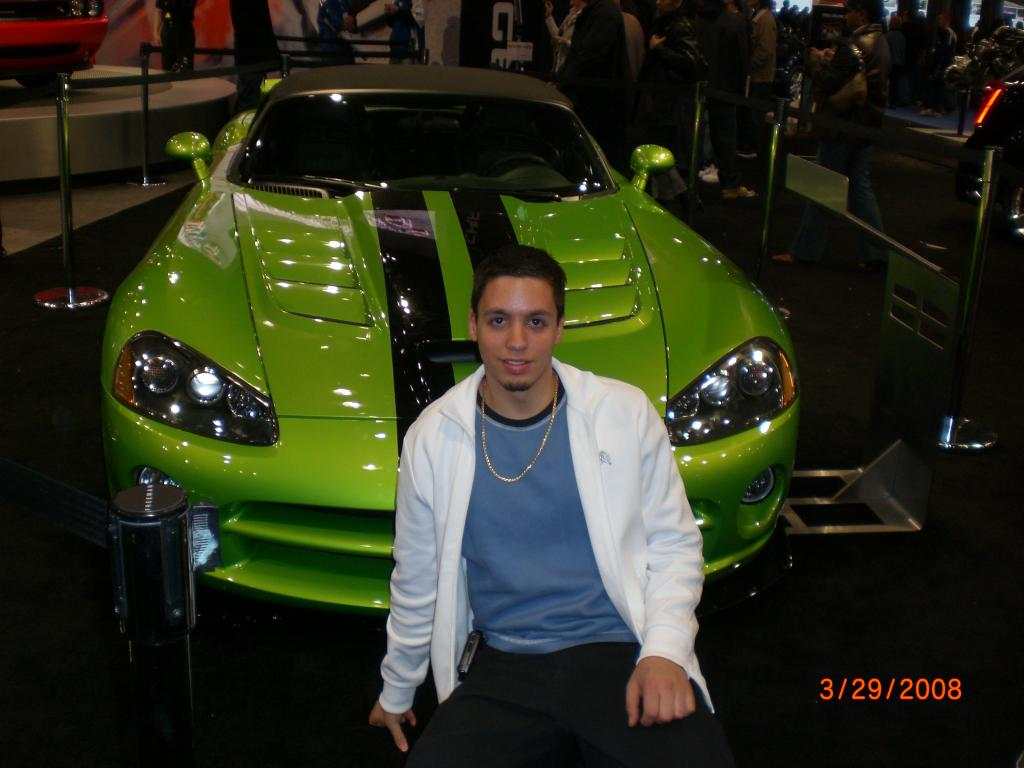 at the NYC auto show
