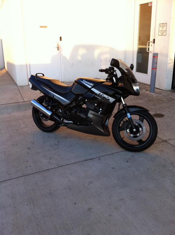 06 ninja 500r not bad for 800 bucks lol
